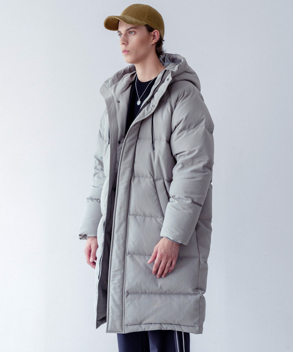 ARCTIC LONG DOWN PARKA (khaki grey)